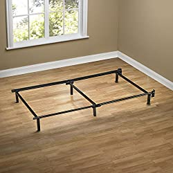 Zinus Michelle Compack 6-Leg Support Bed Frame, for Box Spring and Mattress Set, Twin