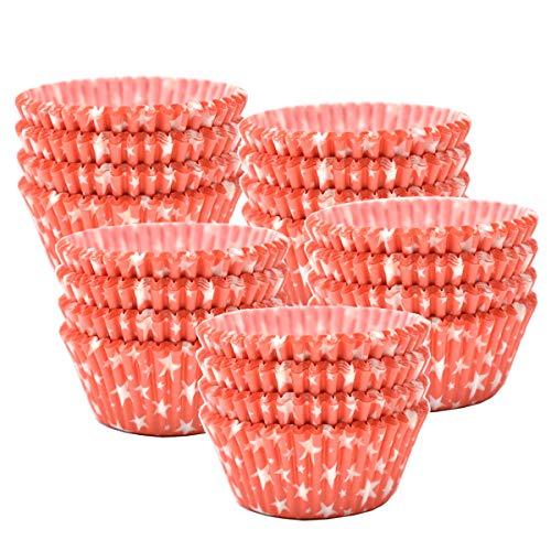 Liwein Papel para Magdalenas, 500 Piezas Mini Moldes Magdalenas Papel Muffin Moldes de Horneado Pequeñas Papel Cupcakes para...