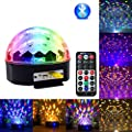 9 Color LED Bluetooth Stage Light DJ Stage Lighting Rotating Crystal Magic Ball Light With Remote Control Mp3 Player And USB port
