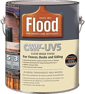 Flood Cwf-Uv5 Wood Finish Oil Base Natural 1 Gal