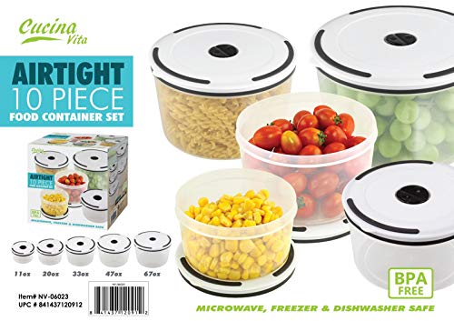 Lowest Price! Max Sales Group AIRTIGHT Storage - Round - 10 PC