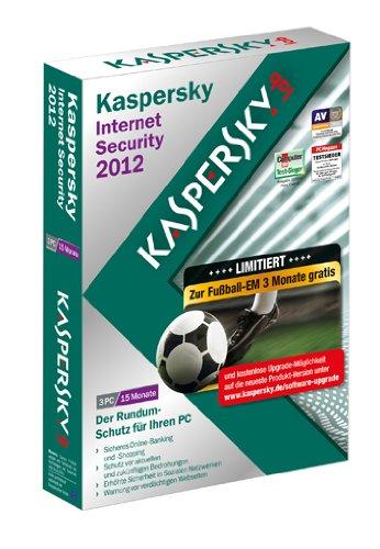 Kaspersky Internet Security 15 Monate EM-Edition 3 User [import allemand]