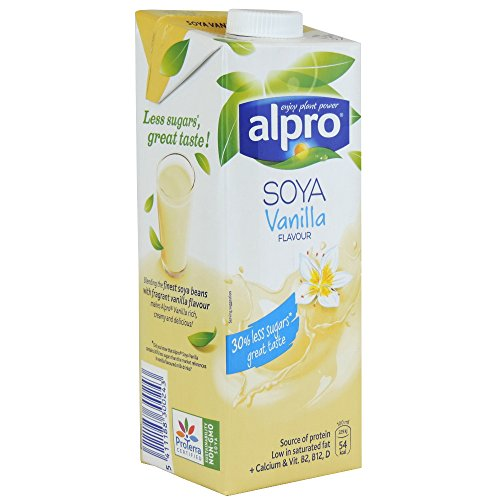 Alpro Soya Vanilla Flavour - 1L (Case of 8)