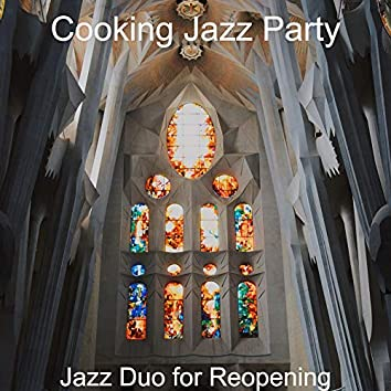 Jazz Duo for Reopening