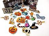 BLOUR 22pcsSelbstgemachte Handbuch Aufkleber niedlichen Kawaii Halloween Aufkleber lustige...