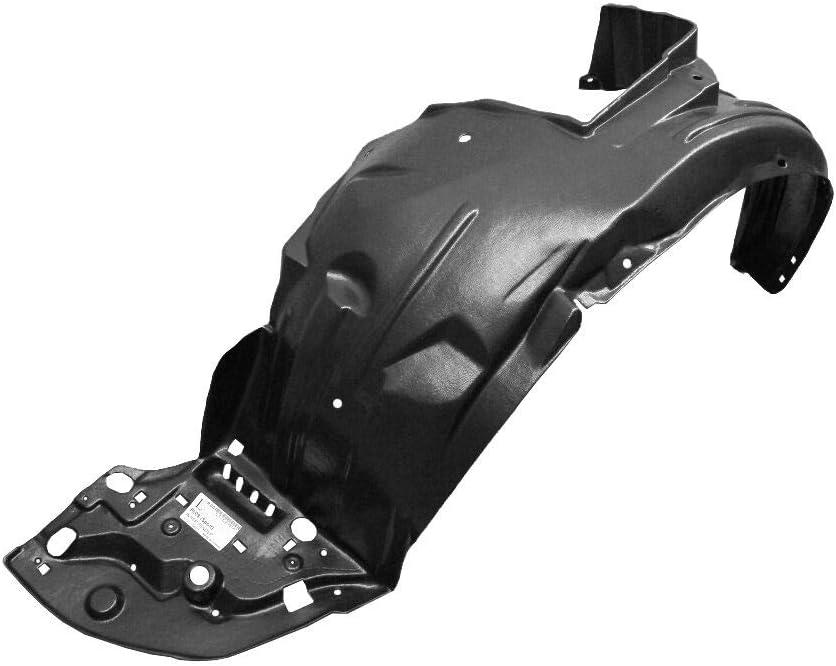 Front Driver supreme Left Side Fender Luxury goods Shield 09-11 Liner Compatibl Guard