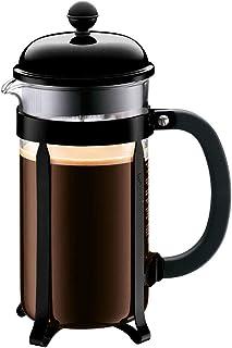 BODUM Chambord French Press Coffee Maker, 34 oz, Black