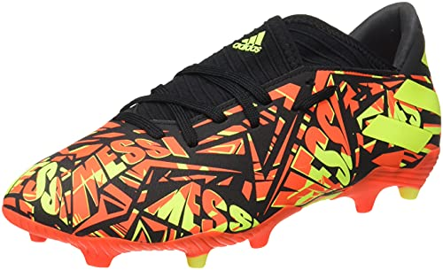adidas Nemeziz Messi .3 FG, Zapatillas de fútbol Hombre, Rojsol/Amasol/NEGBÁS, 44 EU