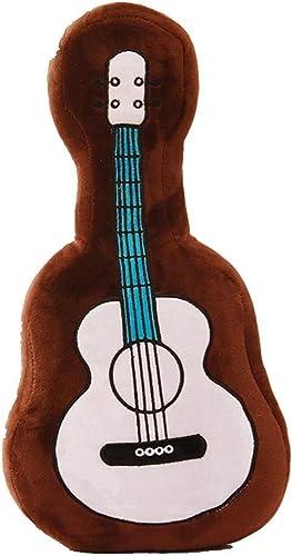 exclusivo LAIBAERDAN Juguete De Peluche Grande Guitarra Almohada Cojín Cojín Cojín Cojín Regalo De La Muchacha Decoración del Hogar 45-60-75Cm, 75Cm  100% precio garantizado