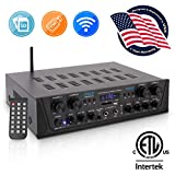 Best Bluetooth Audio Amplifiers - 500W Karaoke Wireless Bluetooth Amplifier - 4 Channel Review