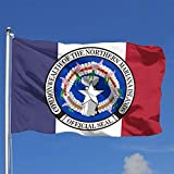 Huozhe Seal of The Northern Mariana Islands State American Flag 4x6 Ft Outdoors Indoors Durable Vivid Color Us Flags
