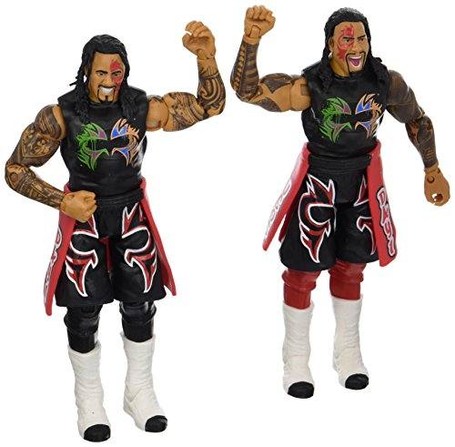 WWE Jimmy USO & Jey USO Action Figure (2 Pack)