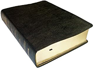 Thompson Chain Reference Bible (Style 306black index) - Regular Size NKJV - Genuine Leather by Frank Charles Thompson (1997) Leather Bound