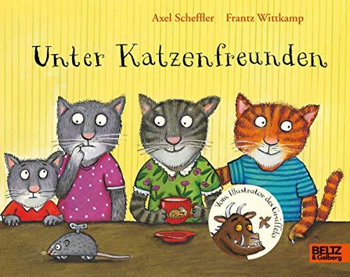 Unter Katzenfreunden: Vierfarbiges Bilderbuch