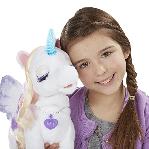 furReal StarLily, My Magical Unicorn Interactive Plush Pet Toy