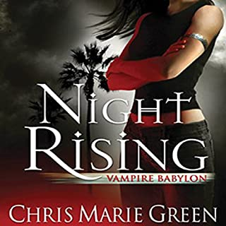Night Rising audiobook cover art