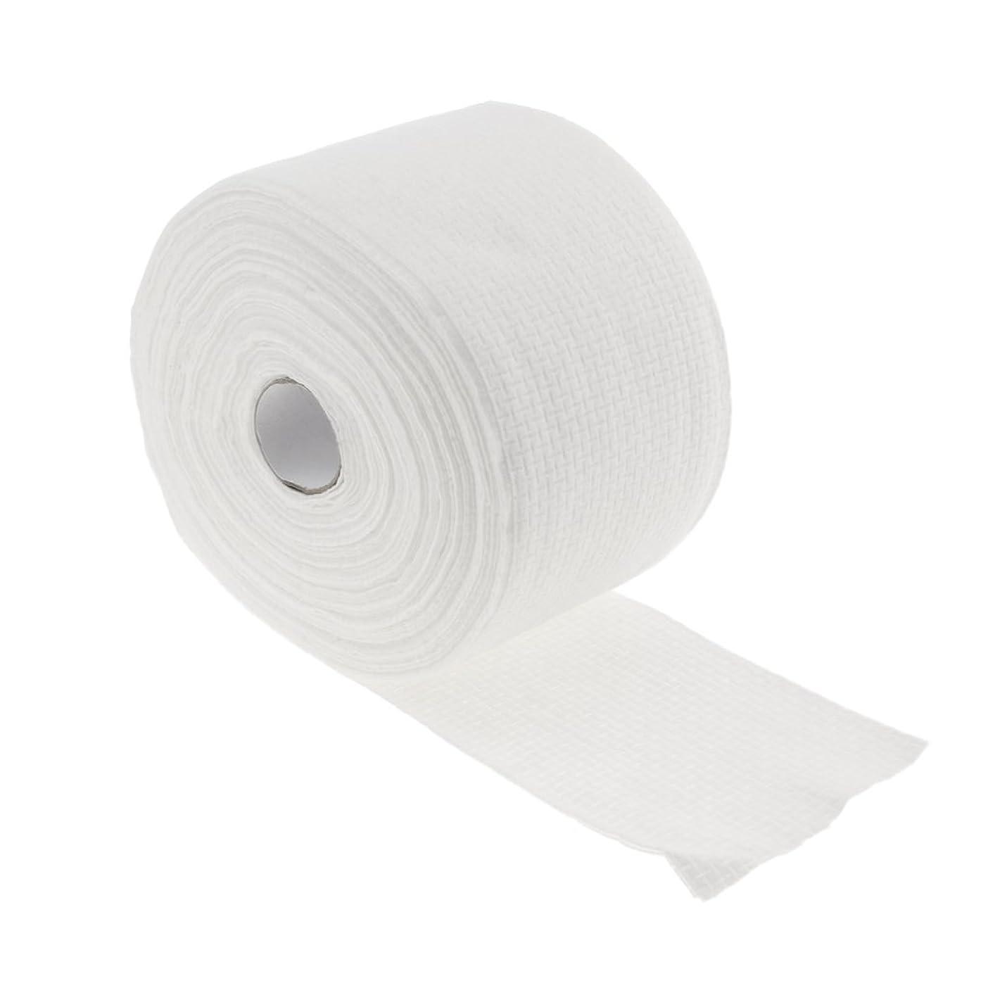 発症剃るファウルCUTICATE 1ロール30メートル使い捨てタオル繊維クレンジングフェイシャルワイプメイクリムーバー - #1