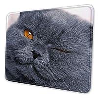 猫 マウスパッド 25 X 30cm 滑り止め 防水 おしゃれ 洗える ビジネス用 家庭用 ゲーム用