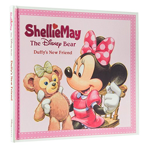 Disney ShellieMay Bear Duffy New Friend Book Beautiful Color Pictures Shellie