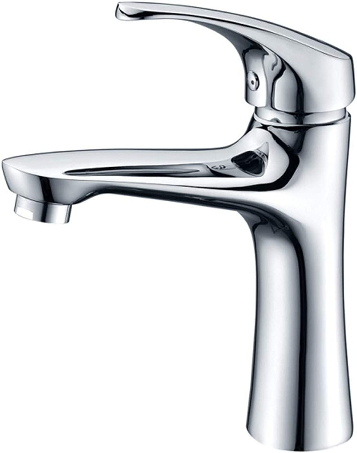 Kitchen Taps Faucet Modern Kitchen Sink Taps Stainless Steelface Basin Faucet Single Hole Copper Hot and Cold Water Nozzle Hand Basin Faucet