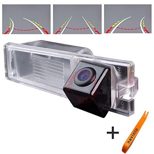 Kalakus 170° bekijken CCD Intelligent Dynamic Trajectory Tracks achteraanzicht camera HD omgekeerde back-up camera auto reversing parking assistance voor plank/Excel XT 2009/CTS