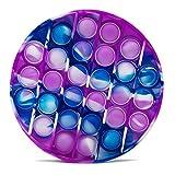 Pincez sensorielle Jouet Pousser Pop Bubble Sensory Fidget Toy Silicone Anti-Stress Jouets de Soulagement de L'anxiété Educatifs...