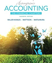 Horngren's Accounting, The Financial Chapters Plus MyLab Accounting with Pearson eText -- Access Card Package (11th Edition)