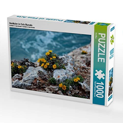 CALVENDO Puzzle Goldtaler in Cala Murada 1000 Teile Lege-Größe 64 x 48 cm Foto-Puzzle Bild von Ela May