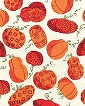 1.5 Yards Sunflower Daze Pumpkin Patch by Greta Lynn from Kanvas Bernatex 100% Cotton Quilt Fabric 05666 07