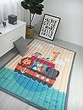 Zinsale Große Verdicken Baby Krabbeldecken Baumwolle Spielmatte Kindergarten Aktivität Pad Krabbelmatte (U-Boot)