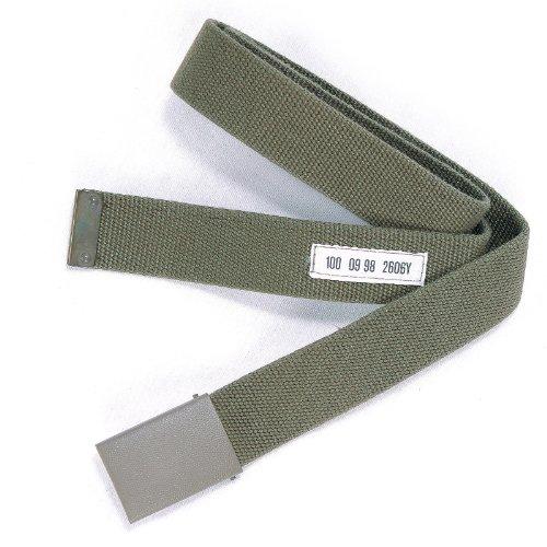 Mil-Tec BW Hosengürtel Textil Oliv nach TL Gr.120