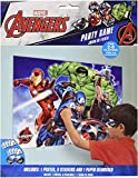 amscan Marvel Epic Avengers Party Game, Party Favor White