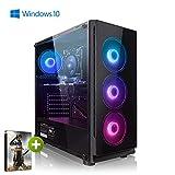PC Gaming - Megaport Ordenador Gaming PC AMD Ryzen 7 2700X • GeForce RTX2060 Super 8GB • 1000GB HDD • 240GB SSD • 16GB DDR4 2400 • WLAN • Windows 10 Home • PC Gamer • Ordenador de sobremesa