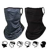 Mascarilla multifuncional para la cara de la bandana, lavable, reutilizable, de tela, para el cuello, protección UV, máscara facial para motocicleta, correr, senderismo, pesca, yoga