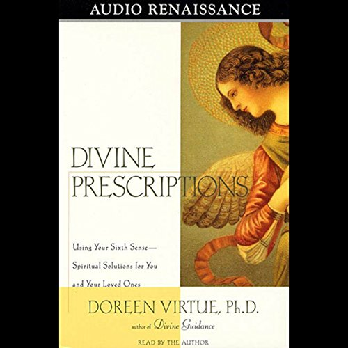 Divine Prescriptions                   By:                                                                                                                                 Doreen Virtue Ph.D.                               Narrated by:                                                                                                                                 Doreen Virtue Ph.D.                      Length: 3 hrs and 25 mins     14 ratings     Overall 4.9