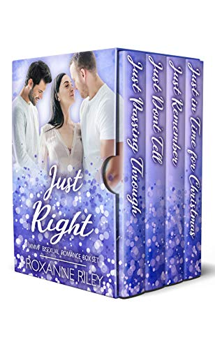 Just Right: MMMF Bisexual Romance Box Set (Just Us Series Collections Book 1) by [Roxanne Riley]