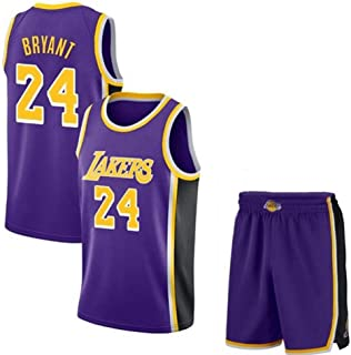dfdedc69 Kobe Bryant #24 Camiseta De Baloncesto para Hombre - NBA Los Angeles Lakers  Camiseta De