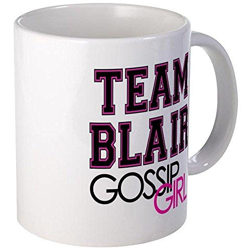 Diseño único de la taza del equipo CafePress Blair Gossip Girl de la taza - S blanco, cerámica, Blanco, small