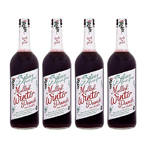 (4 PACK) - Belvoir - Mulled Winter Punch | 750ml | 4 PACK BUNDLE