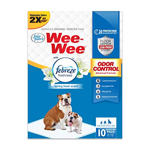 four paws wee wee pads eco 10