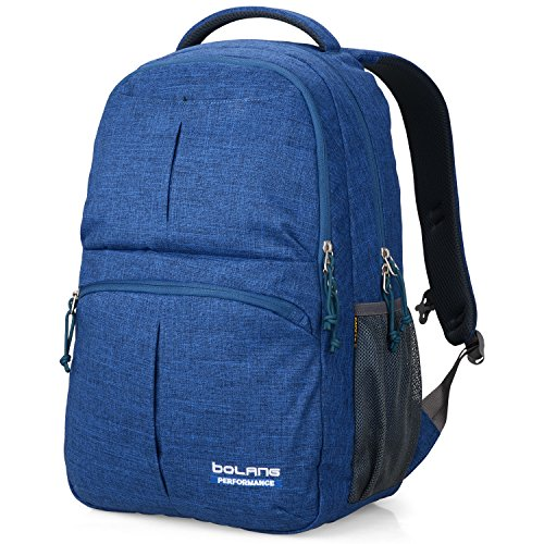 BOLANG College Backpack for Men Water Resistant Travel...