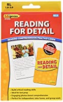 Edupress Reading Comprehension Practise Cards, Reading for Detail, Yellow Level (EP62996)