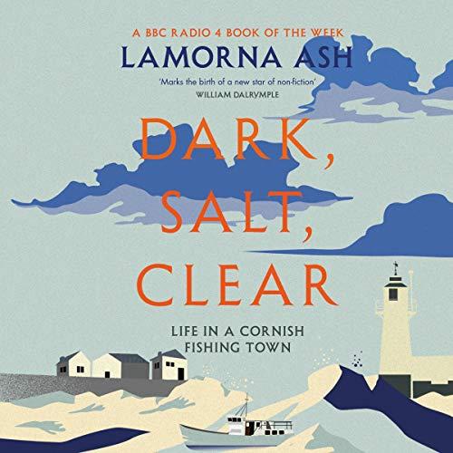 Diseño de la portada del título Dark, Salt, Clear