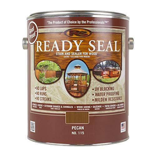 Ready Seal 115 1-Gallon Can Pecan Exterior Stain and Sealer for Wood