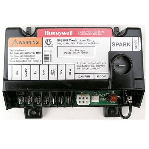 Replacement for Honeywell Furnace Integrated Pilot Module Ignition Control Circuit Board S8670J