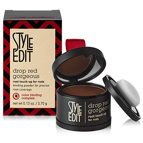 Style Edit Root Touch Up, to Cover Up Roots and Grays, Dark Red Hair Color