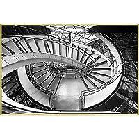 (アートフレーム) CLASSIC B&W PHOTOGRAPHY Spiral Staircase I