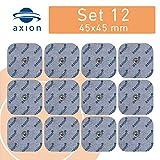 12 électrodes 45 x 45 mm pour électrostimulateurs BEURER SANITAS - électrostimulation tens et ems