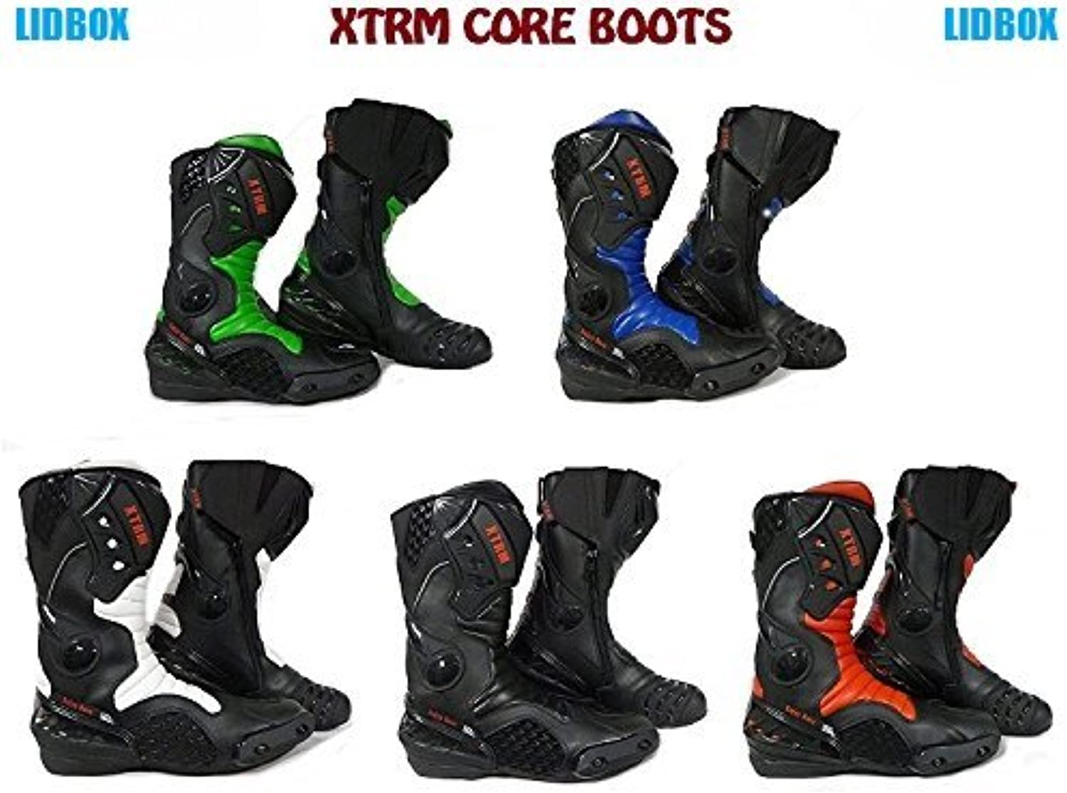 XTRM Motorcycle Boots Core Motorbike Touring Boots CE Approved Sports shoes New for 2019