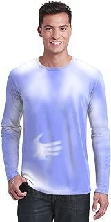 Adult Men's/Unisex Color Changing Long Sleeve T-Shirt Heat Sensitive